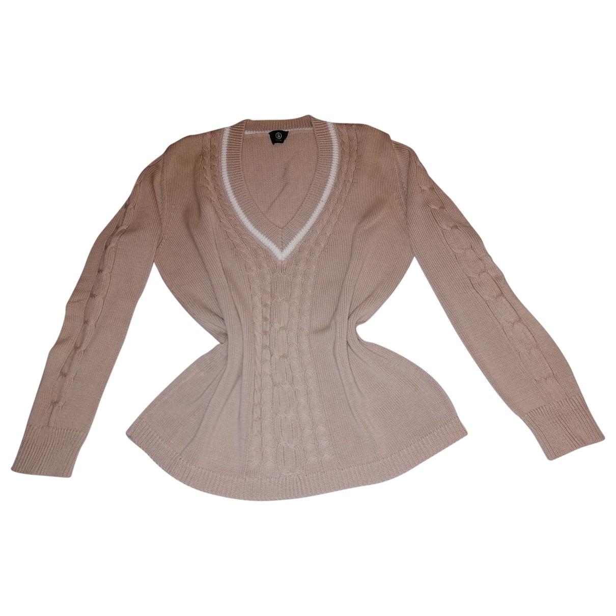 Bogner - Pull   pour femme en coton - beige