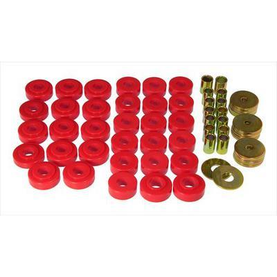 Prothane Motion Control Body Mount Kit (Red) - 7-121