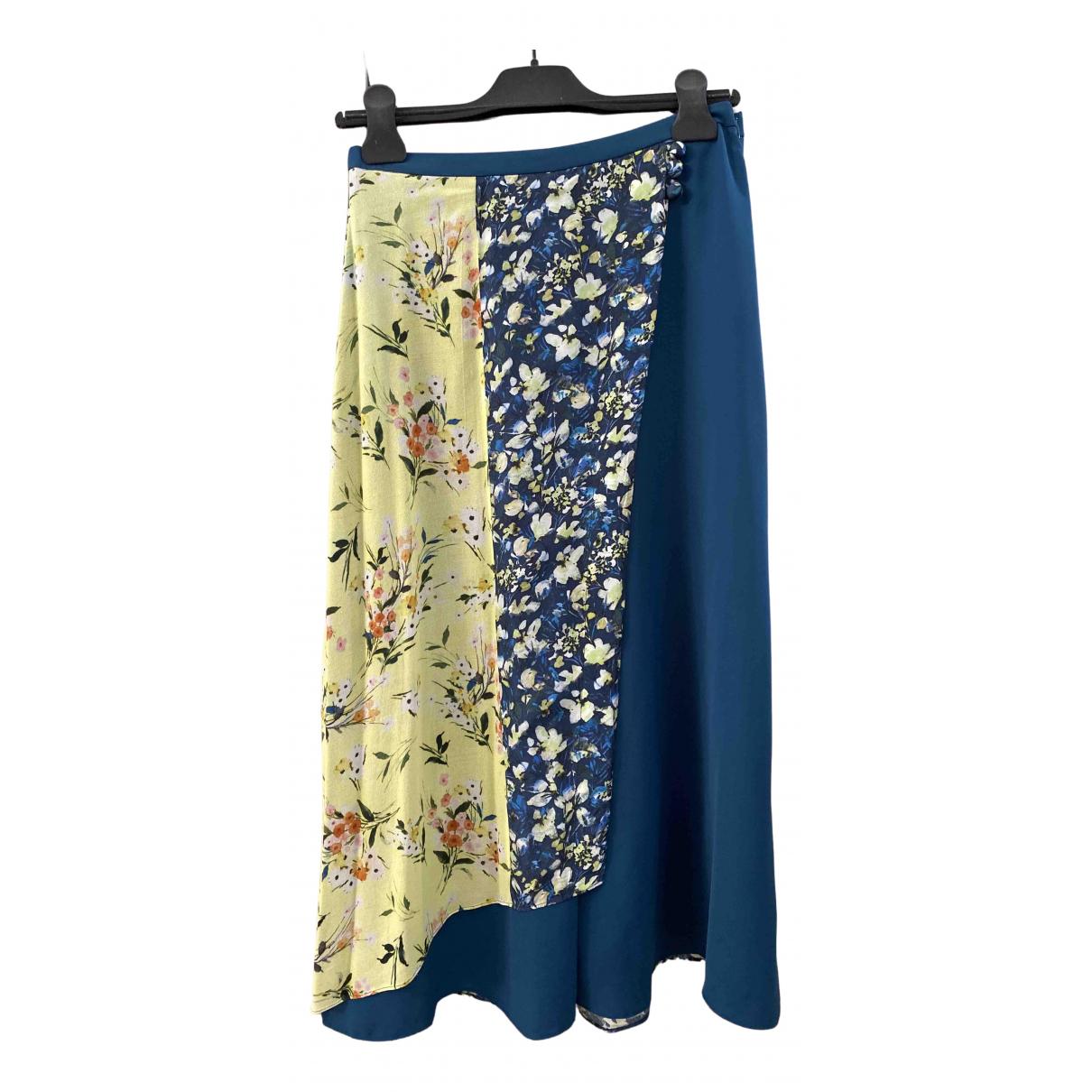 Acne Studios - Jupe   pour femme en soie - multicolore