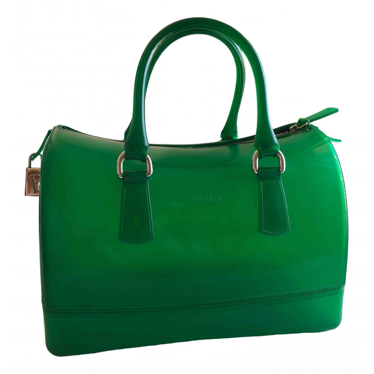 Furla Candy Bag Green handbag for Women \N