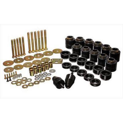 Energy Suspension Body Mount Set (Black) - 2.4108G