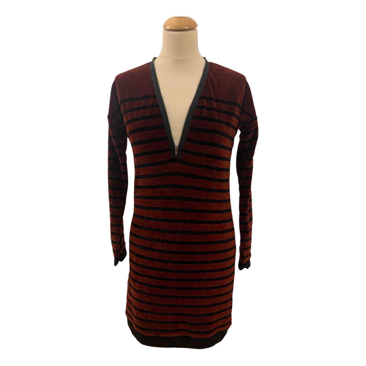 Jean Paul Gaultier \N Brown Velvet dress for Women XS International