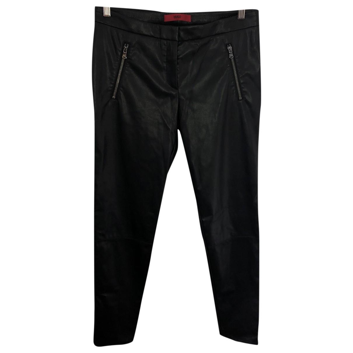 Hugo Boss \N Black Trousers for Women 42 FR