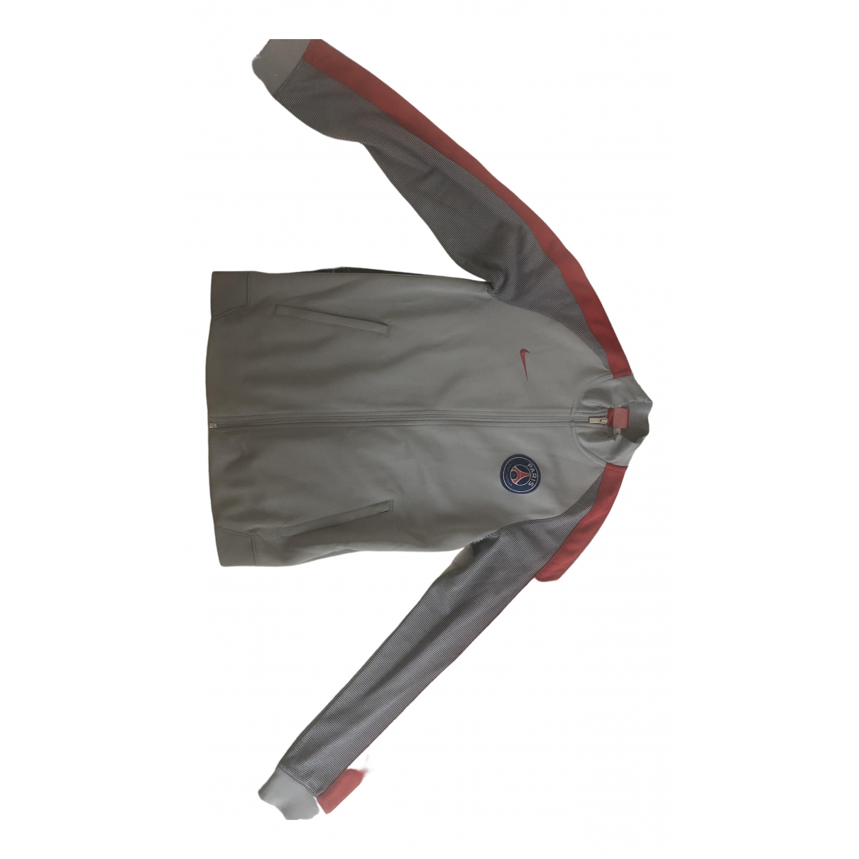 Nike \N Pullover.Westen.Sweatshirts  in  Grau Polyester