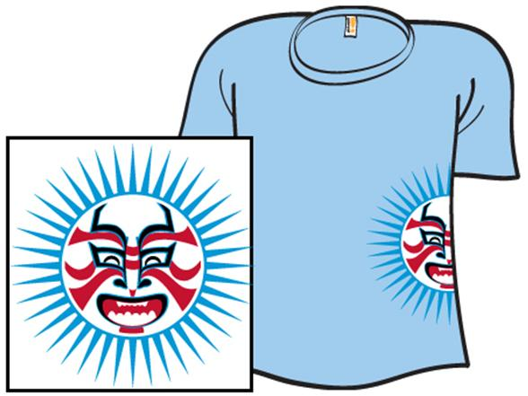 Sun Of Kabuki T Shirt