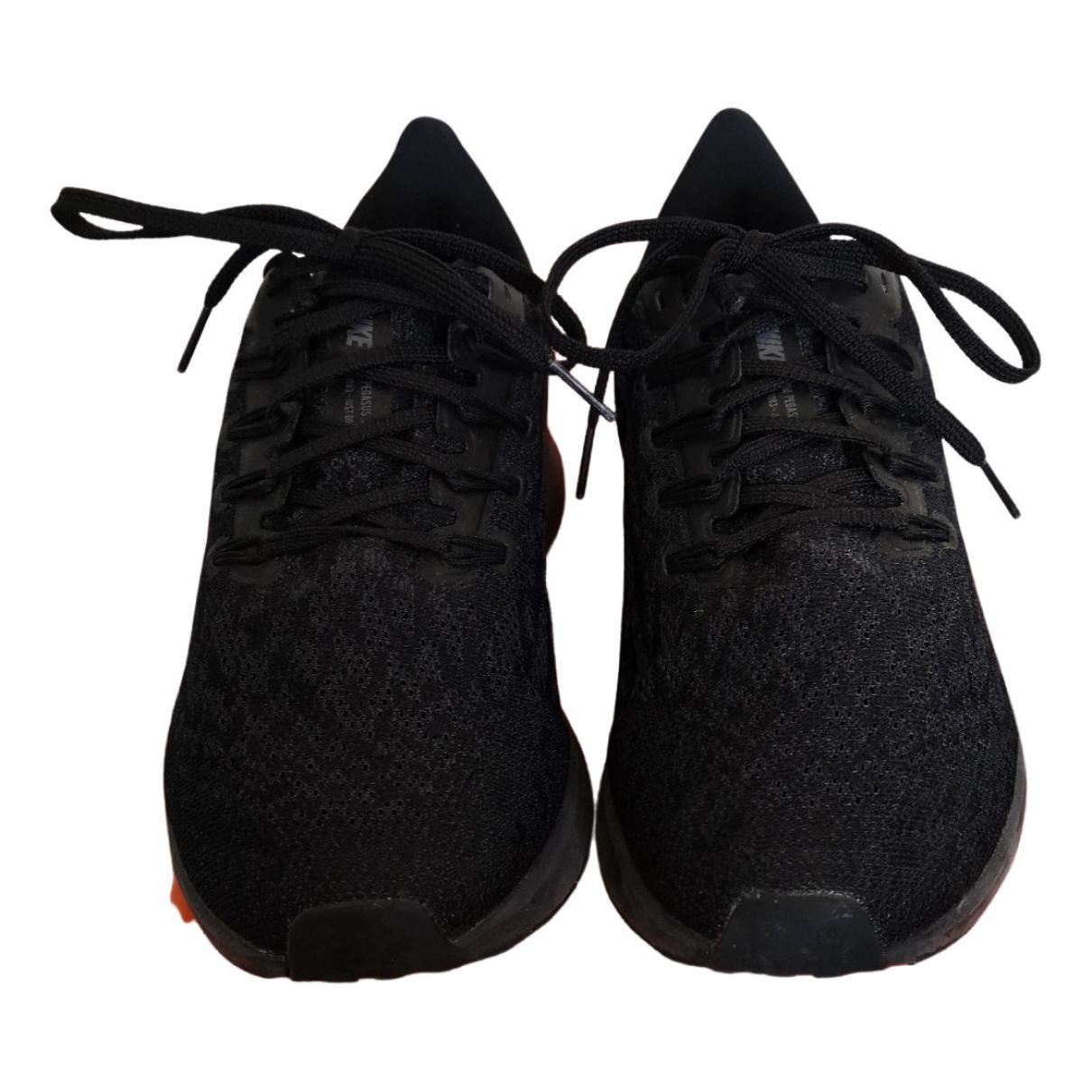 Nike Zoom Sneakers in  Schwarz Polyester