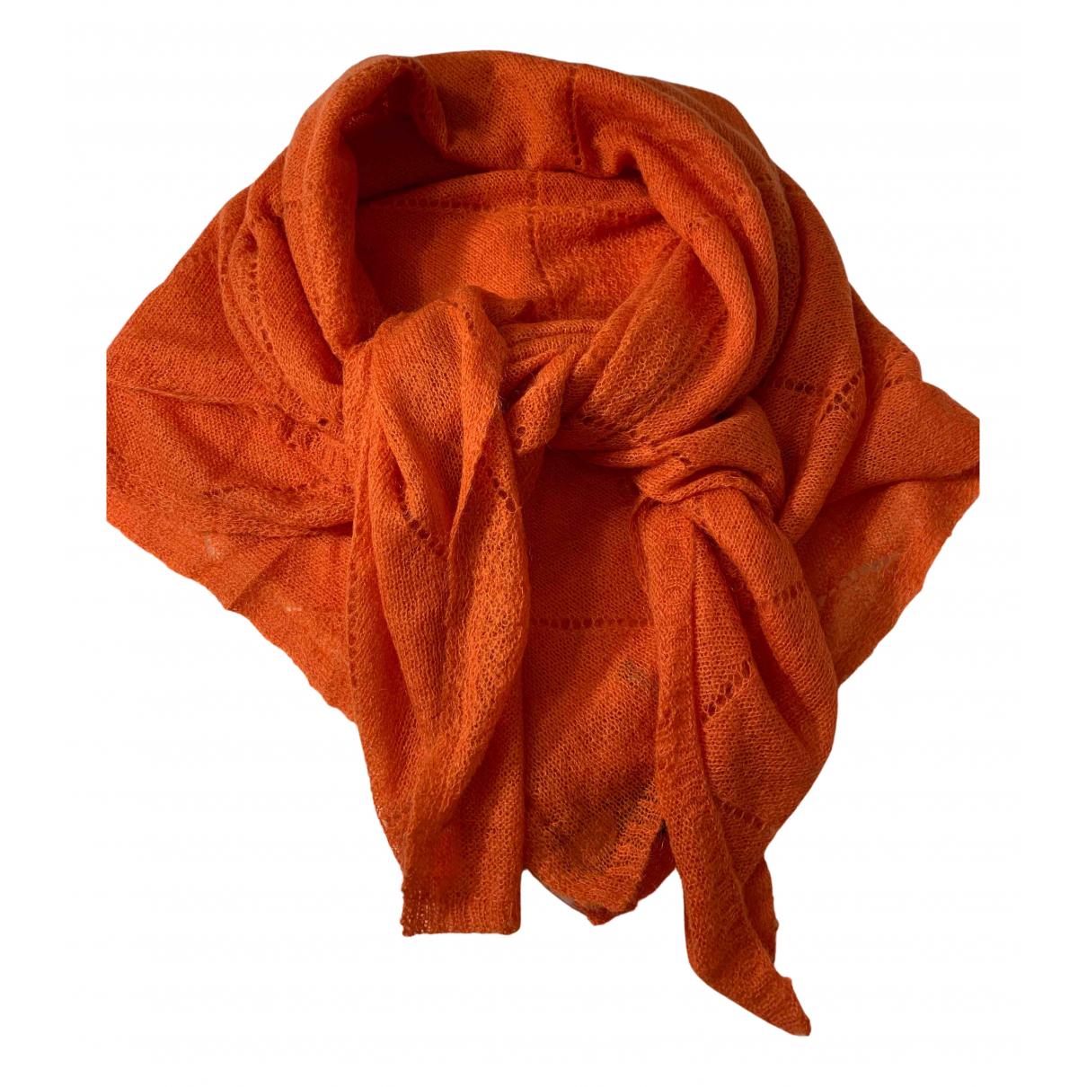 Tommy Hilfiger - Foulard   pour femme en laine - orange