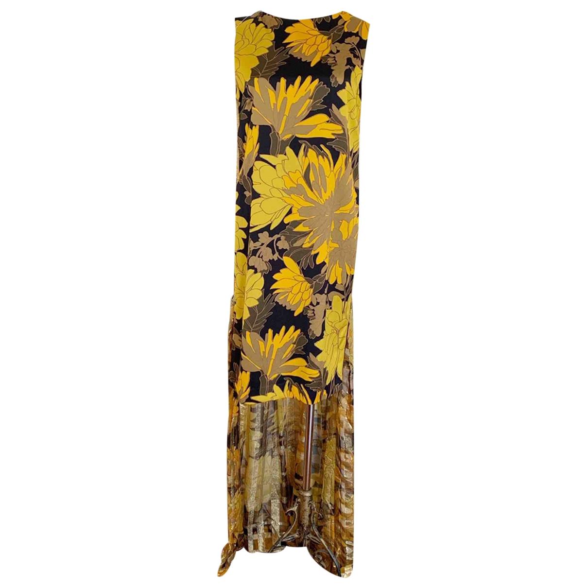 Dries Van Noten \N Gold dress for Women 38 FR
