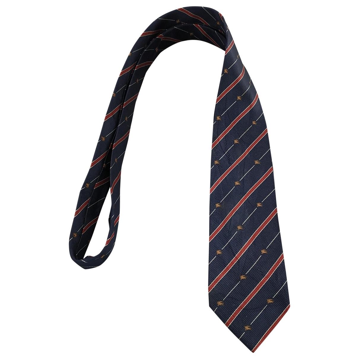 Burberry \N Silk Ties for Men \N
