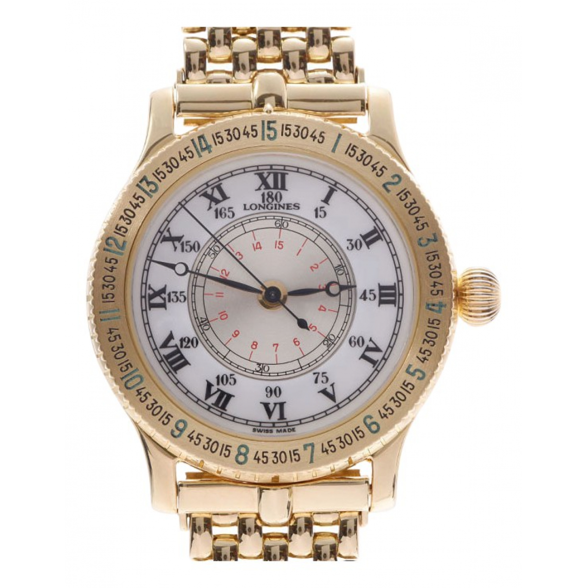 Longines \N Yellow Yellow gold watch for Women \N