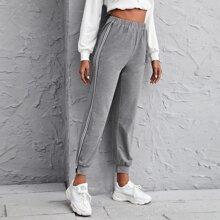 Striped Tape Side Sweatpants