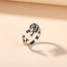 Animal Decor Cuff Ring
