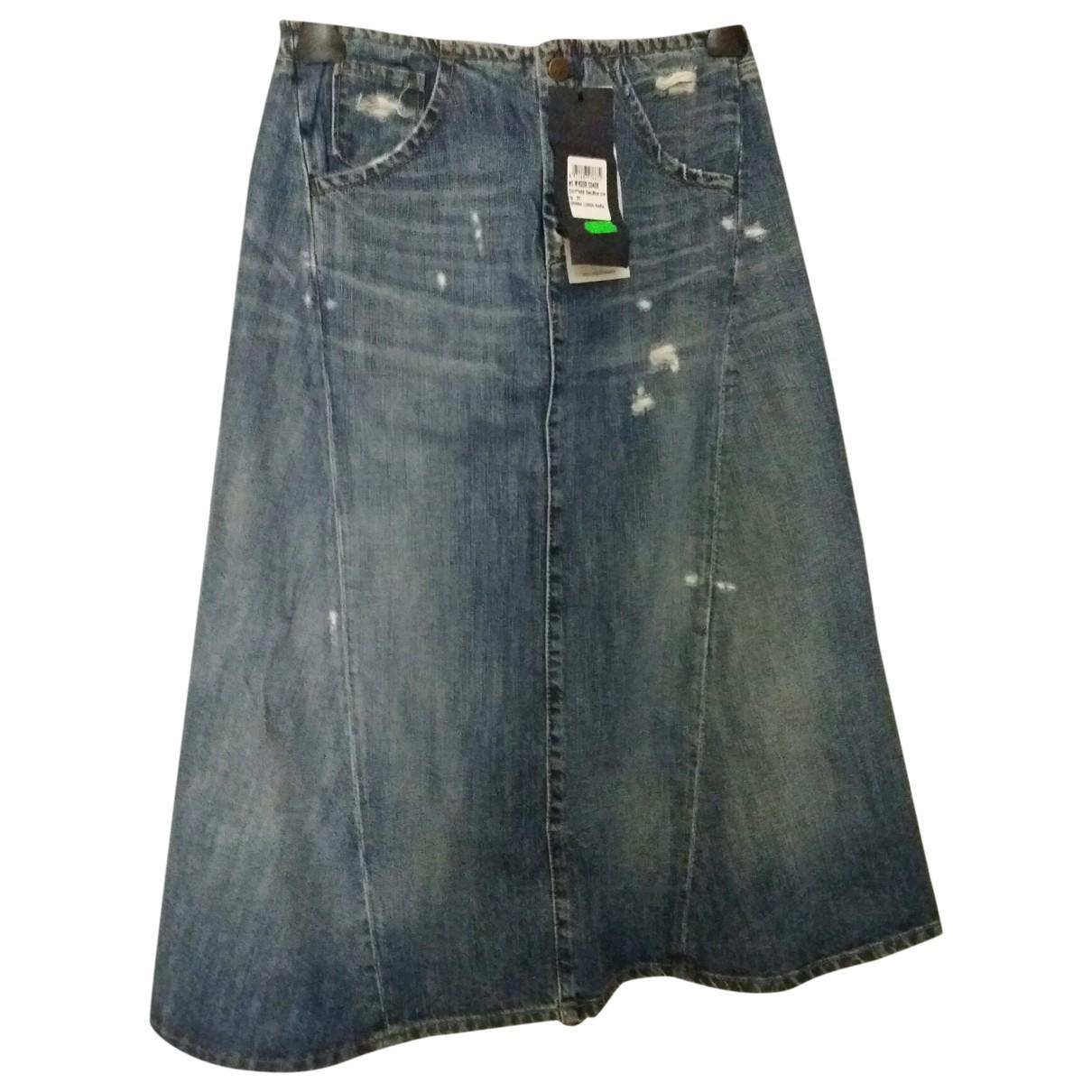 Liu.jo \N Blue Denim - Jeans skirt for Women 40 IT