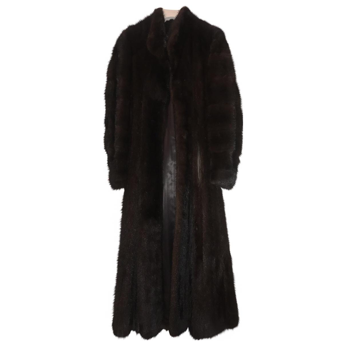Dior - Manteau   pour femme en fourrure - marron