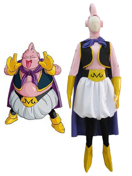 Milanoo Halloween Dragon BallZ Majin Boo Boo gordo Cosplay Costume