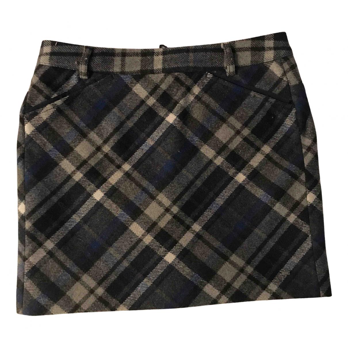Mini falda de Lana Tommy Hilfiger