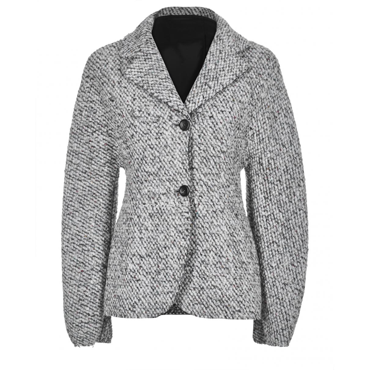 Acne Studios - Veste   pour femme en coton - gris