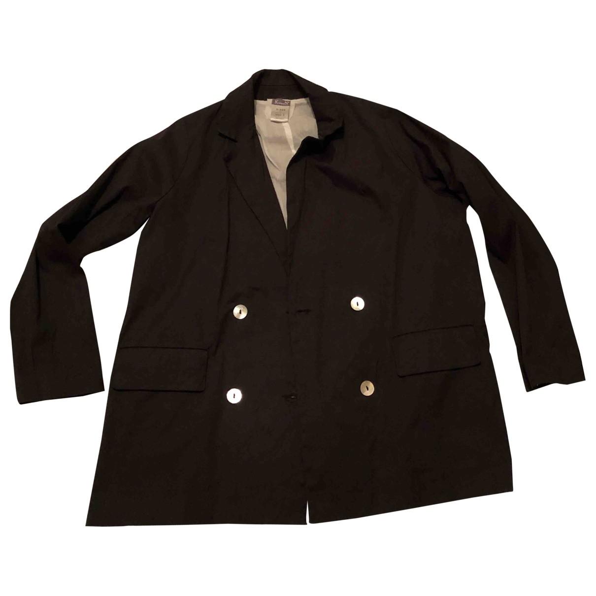Kristensen Du Nord \N Blue Cotton jacket for Women 2 0-5