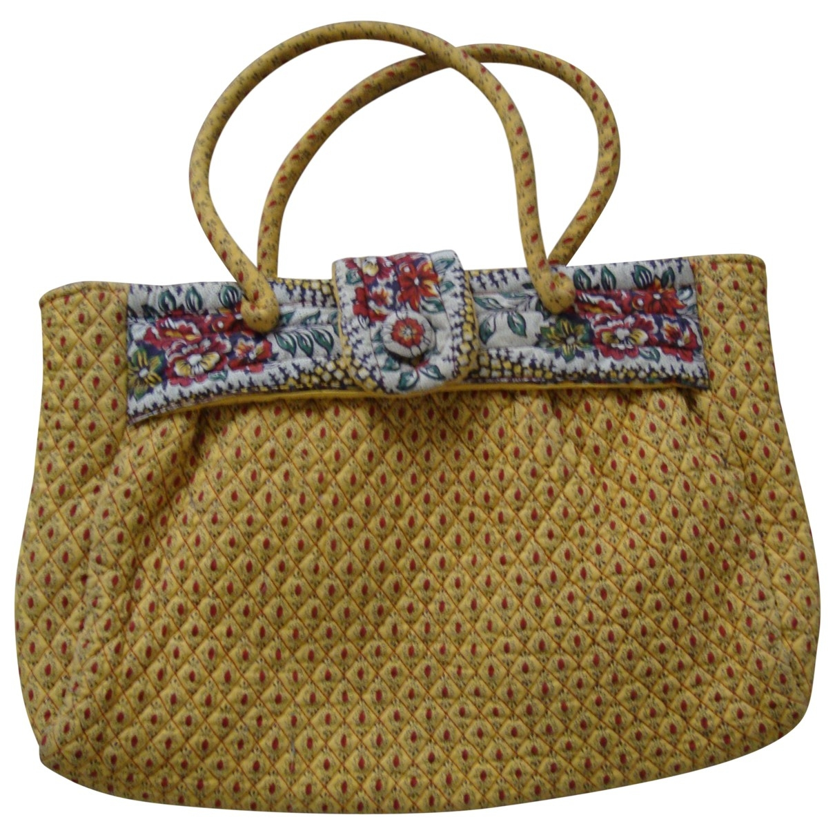 Non Signé / Unsigned Hippie Chic Multicolour Cotton handbag for Women \N