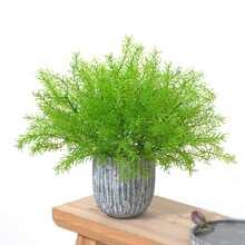 1 pieza planta artificial sin florero