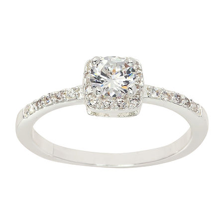 Sparkle Allure Cubic Zirconia Cocktail Ring, 9 , No Color Family