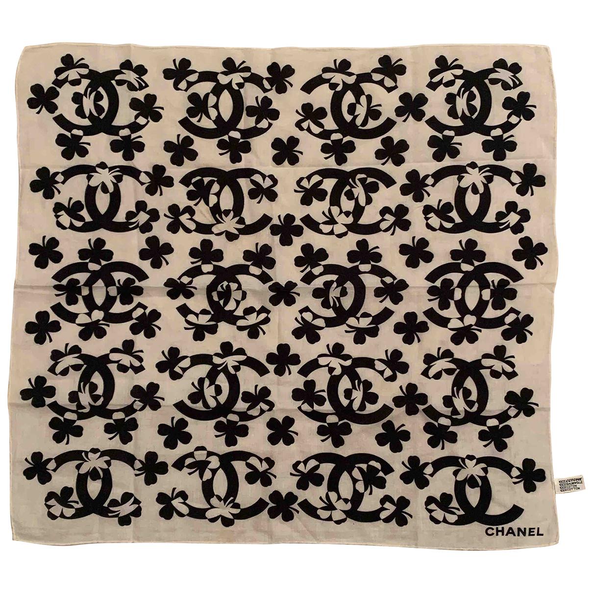 Chanel \N Schal in  Bunt Baumwolle