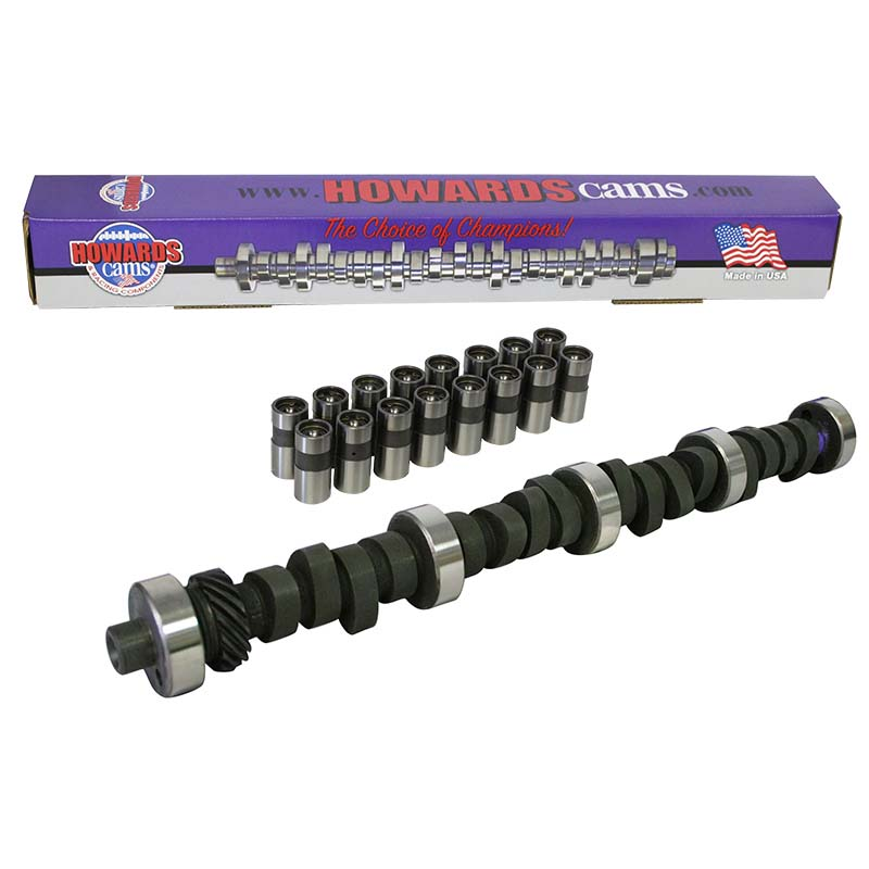 Mechanical Flat Tappet Camshaft & Lifter Kit; 1969 - 1996 Ford 351W 4000 to 7800 Howards Cams CL222532-06 CL222532-06