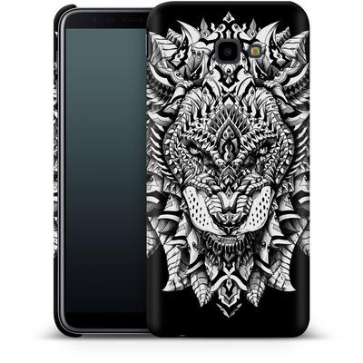 Samsung Galaxy J4 Plus Smartphone Huelle - Ornate Lion von BIOWORKZ