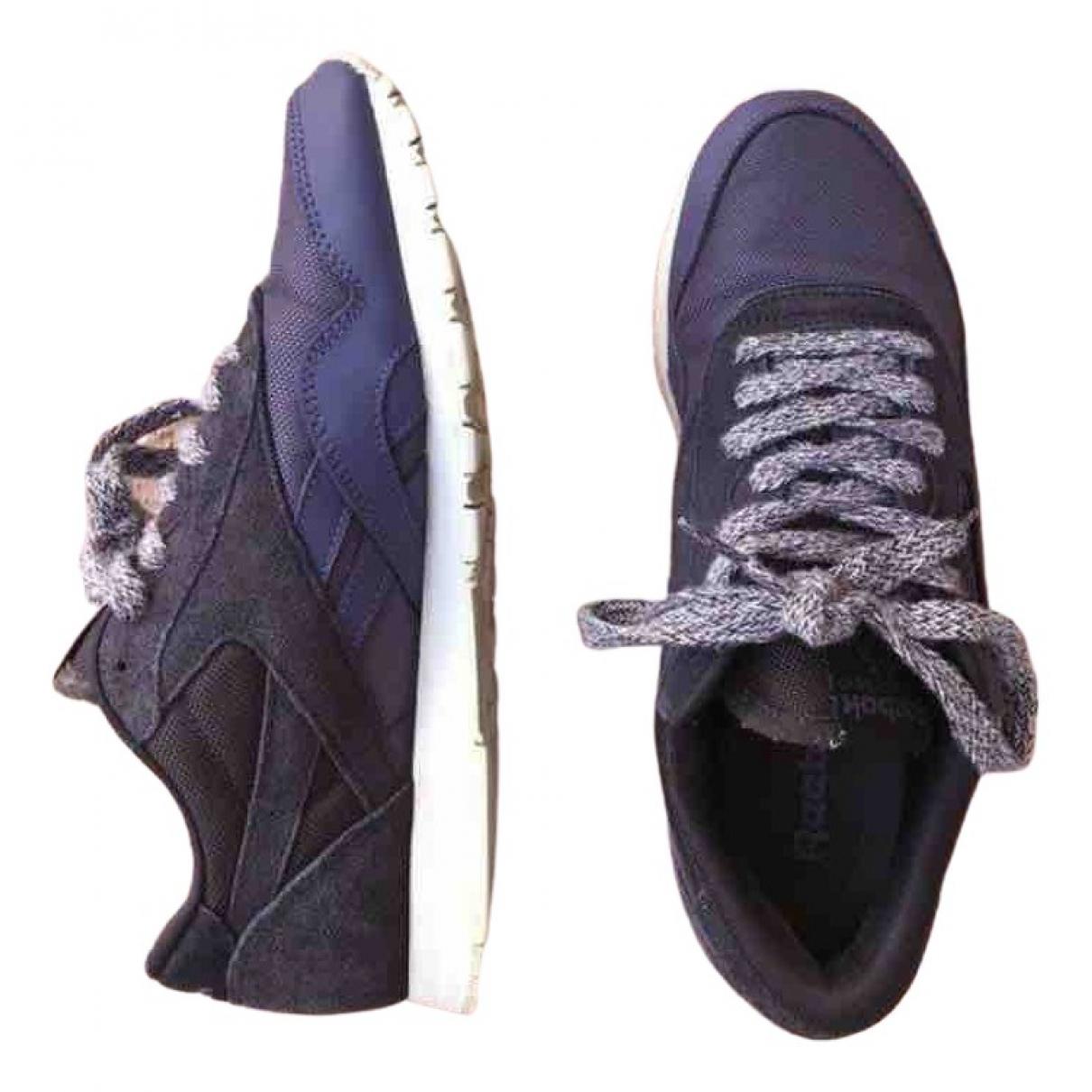 Reebok \N Sneakers in  Lila Veloursleder
