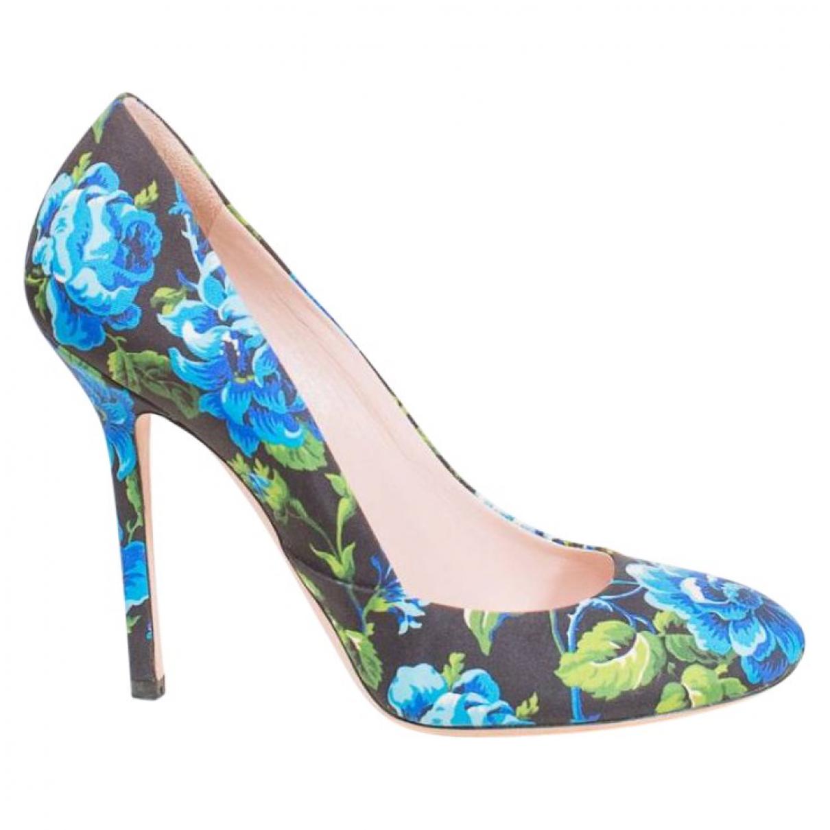Miu Miu \N Multicolour Cloth Heels for Women 38.5 EU