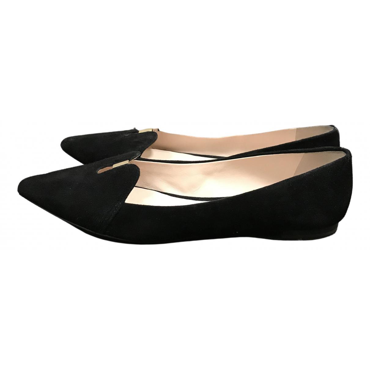 Aerin \N Black Suede Ballet flats for Women 10 US