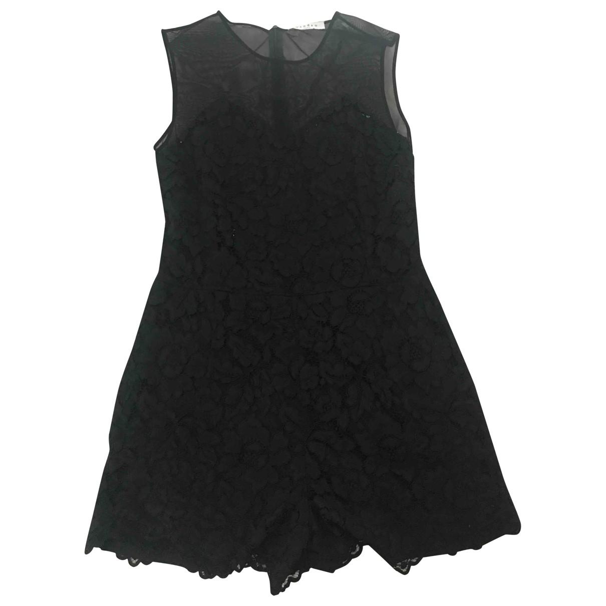Sandro \N Black jumpsuit for Women 40 FR