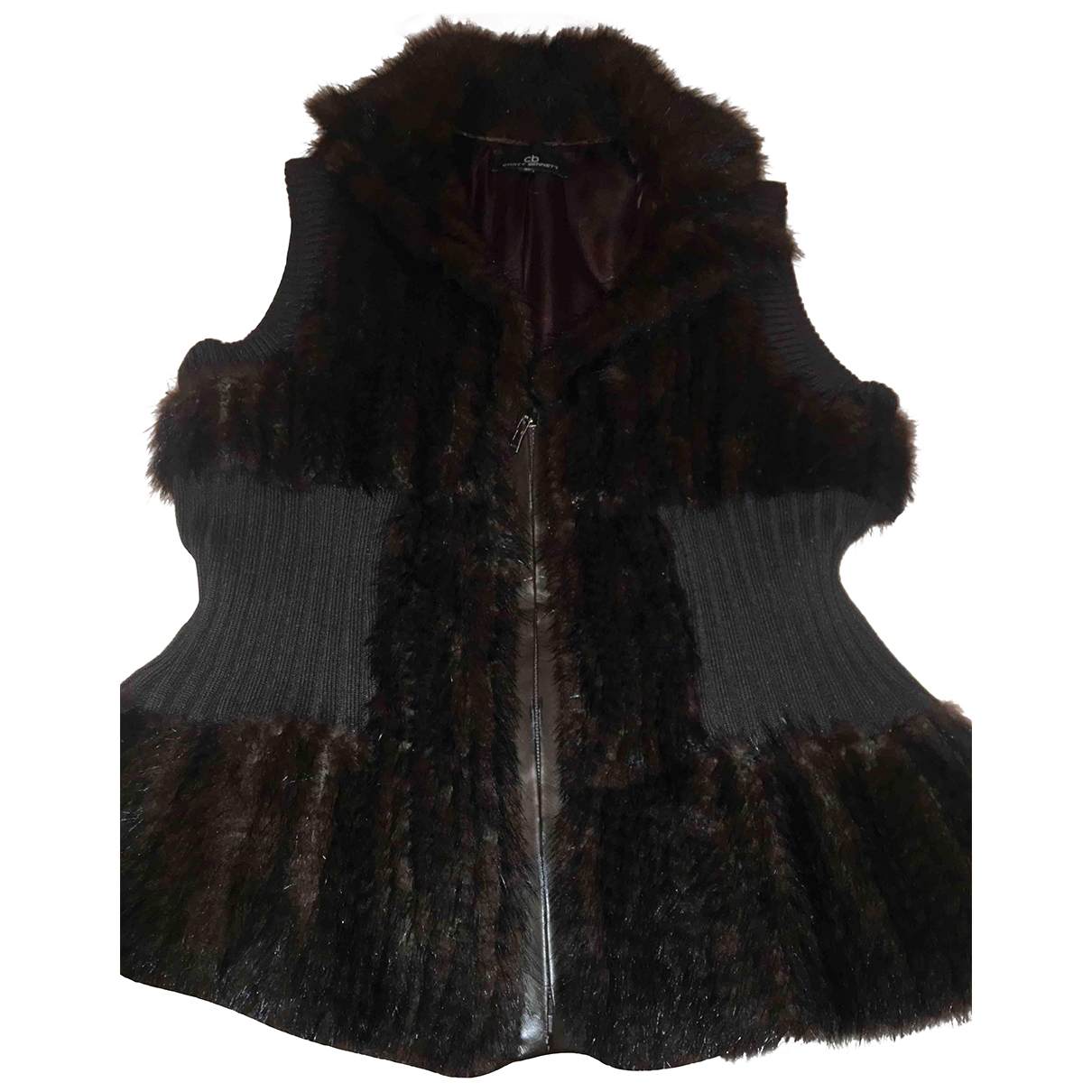 Non Signé / Unsigned \N Brown Mink Knitwear for Women M International