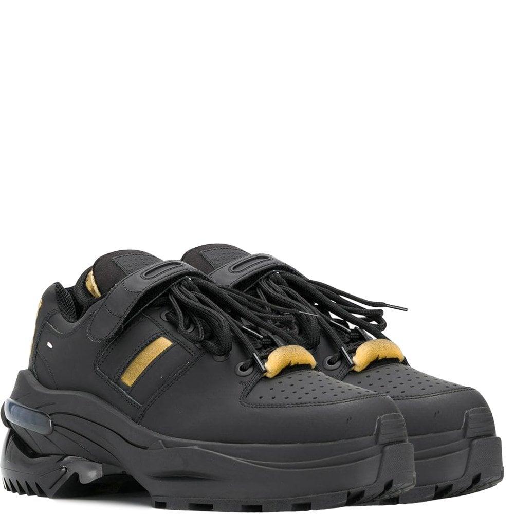 Maison Margiela Heavy Duty Trainers Black Colour: BLACK, Size: UK 9