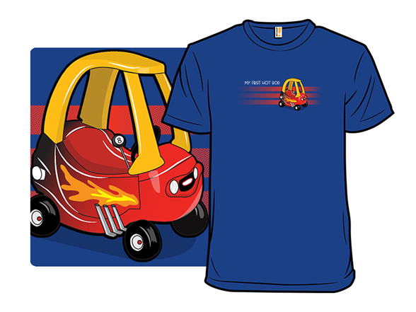My First Hot Rod T Shirt