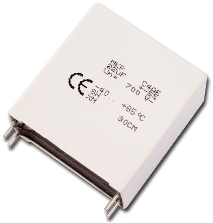 KEMET 75μF Polypropylene Capacitor PP 450V dc ±5% Tolerance Through Hole C4AE Series