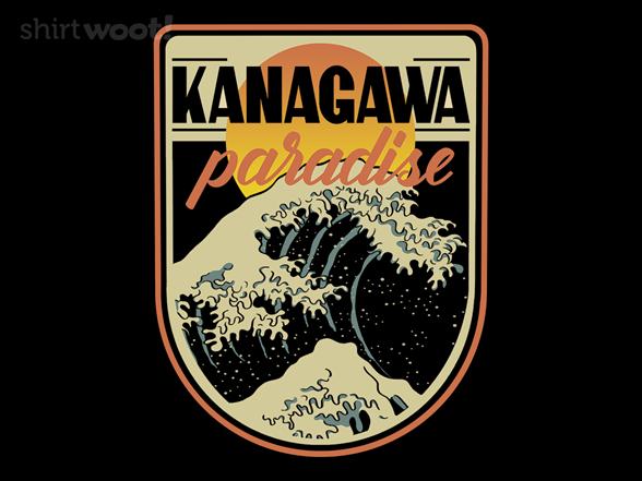 Kanagawa Paradise T Shirt