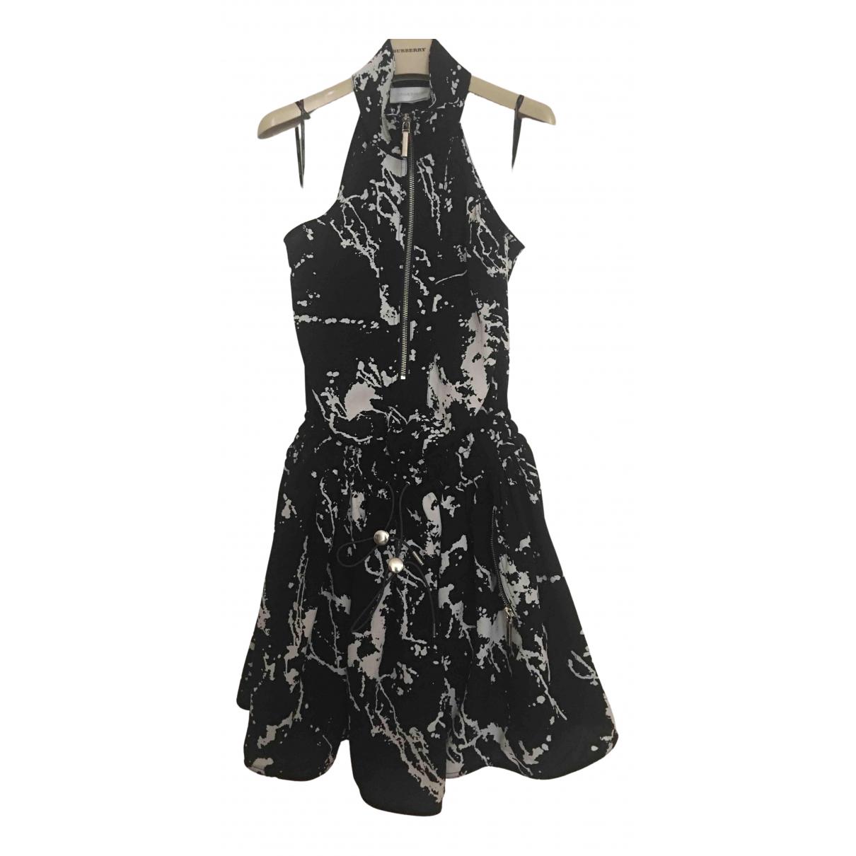 Zimmermann \N Kleid in  Schwarz Viskose