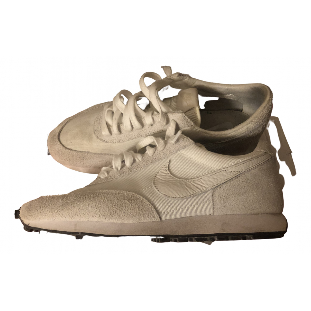 Nike \N White Suede Trainers for Men 44 EU