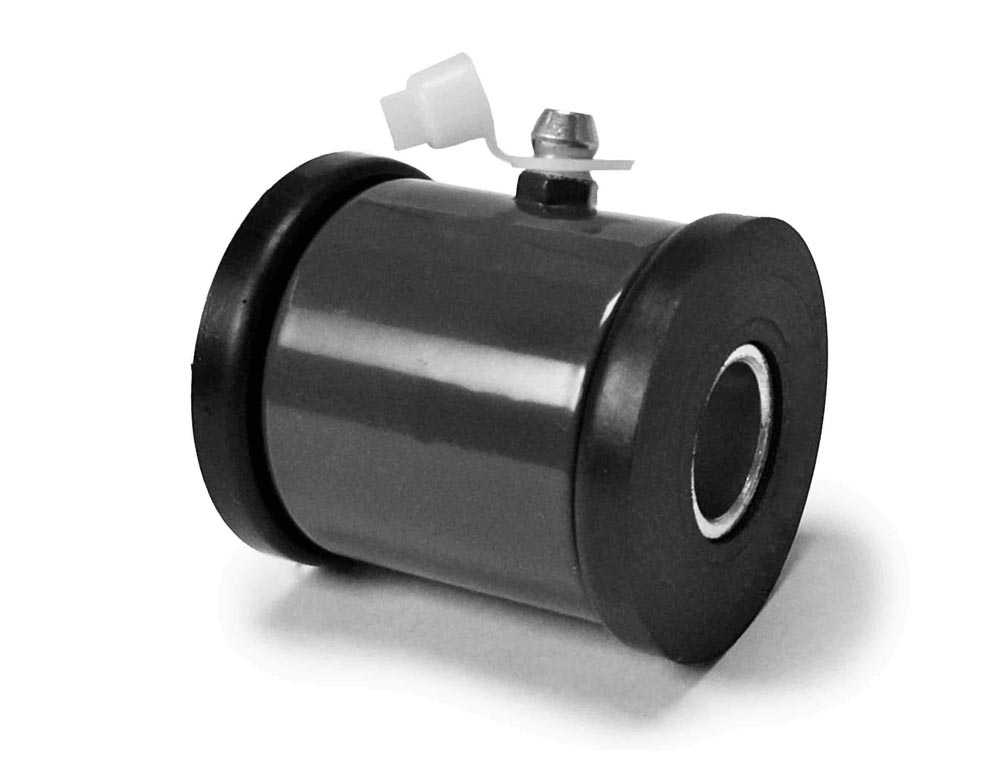 Steinjager J0031052 1/2 Bore Poly Bushing Weld On Kit 2.00 Wide Black Poly