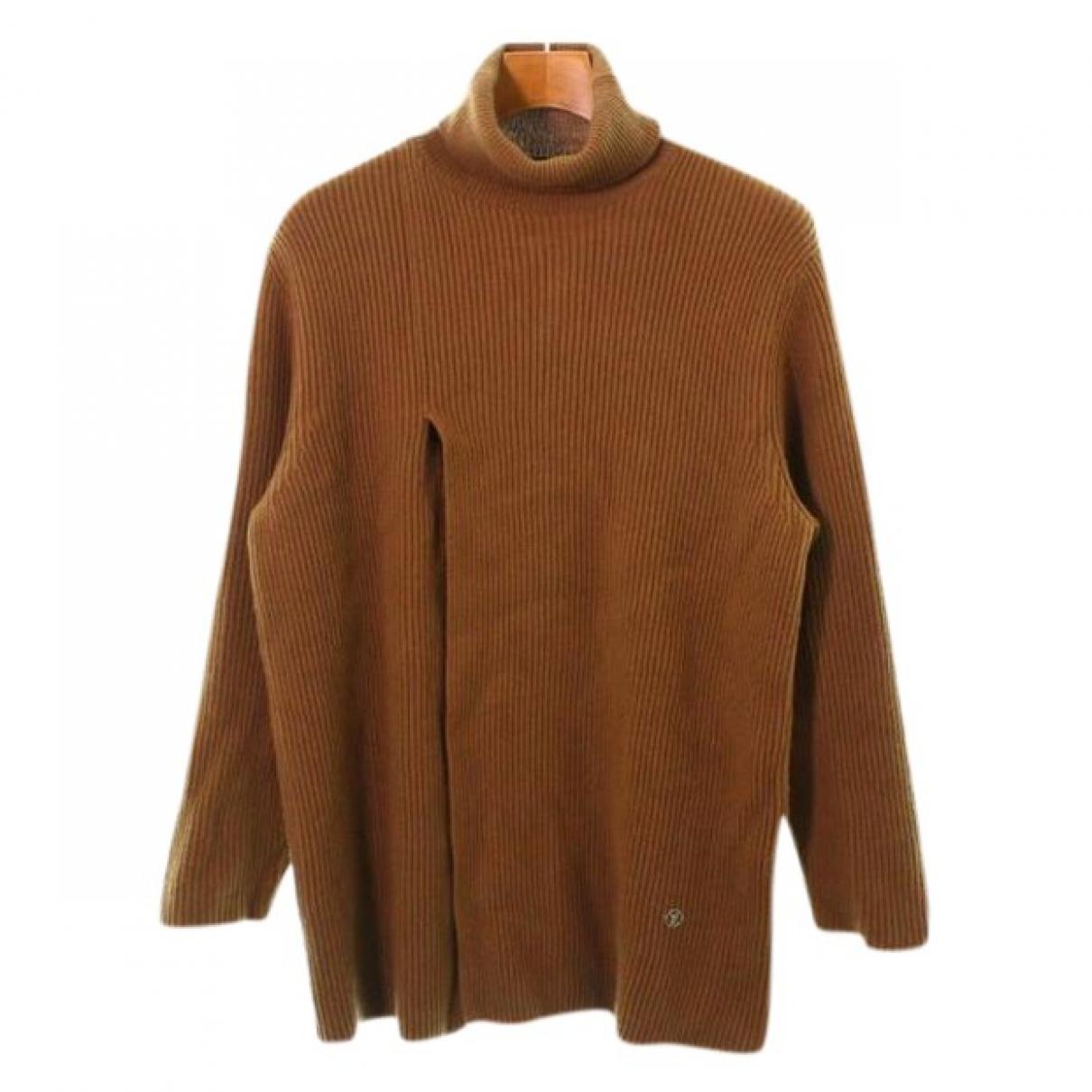 Louis Vuitton \N Camel Cashmere Knitwear & Sweatshirts for Men L International
