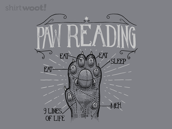 Paw Reading T Shirt