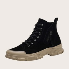 Guys Lace-up Front Combat Boots