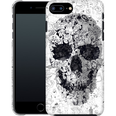 Apple iPhone 7 Plus Smartphone Huelle - Doodle Skull von Ali Gulec