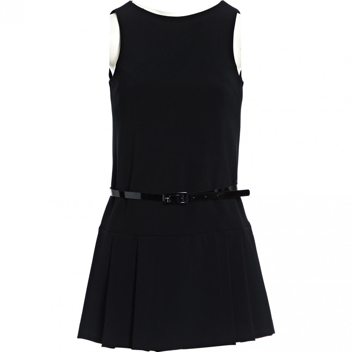 Ermanno Scervino \N Kleid in  Schwarz Polyester