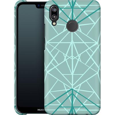 Huawei P20 Lite Smartphone Huelle - Geometric Sketches 3 von Mareike Bohmer