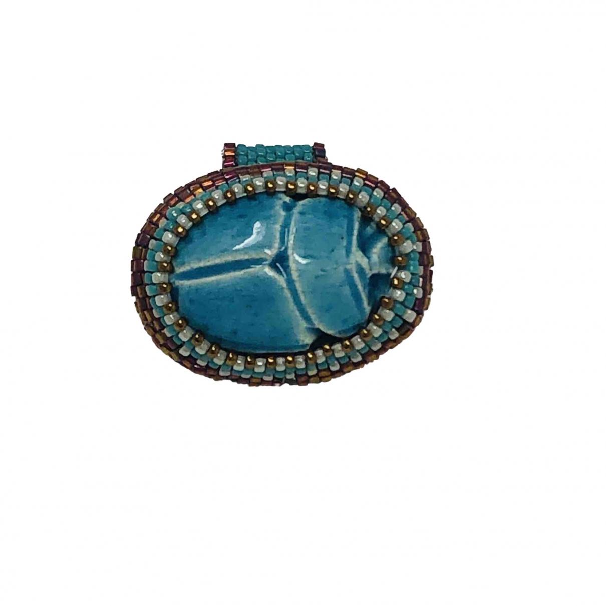 - Bague Turquoises pour femme en verre - turquoise