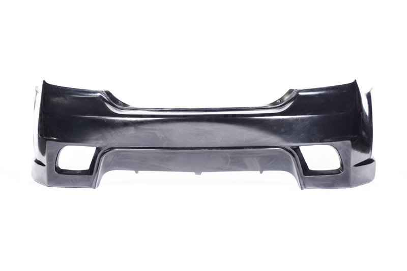 KBD Bodykits 37-2145 M Power Style 1 Piece Rear Bumper Scion tC 05-10