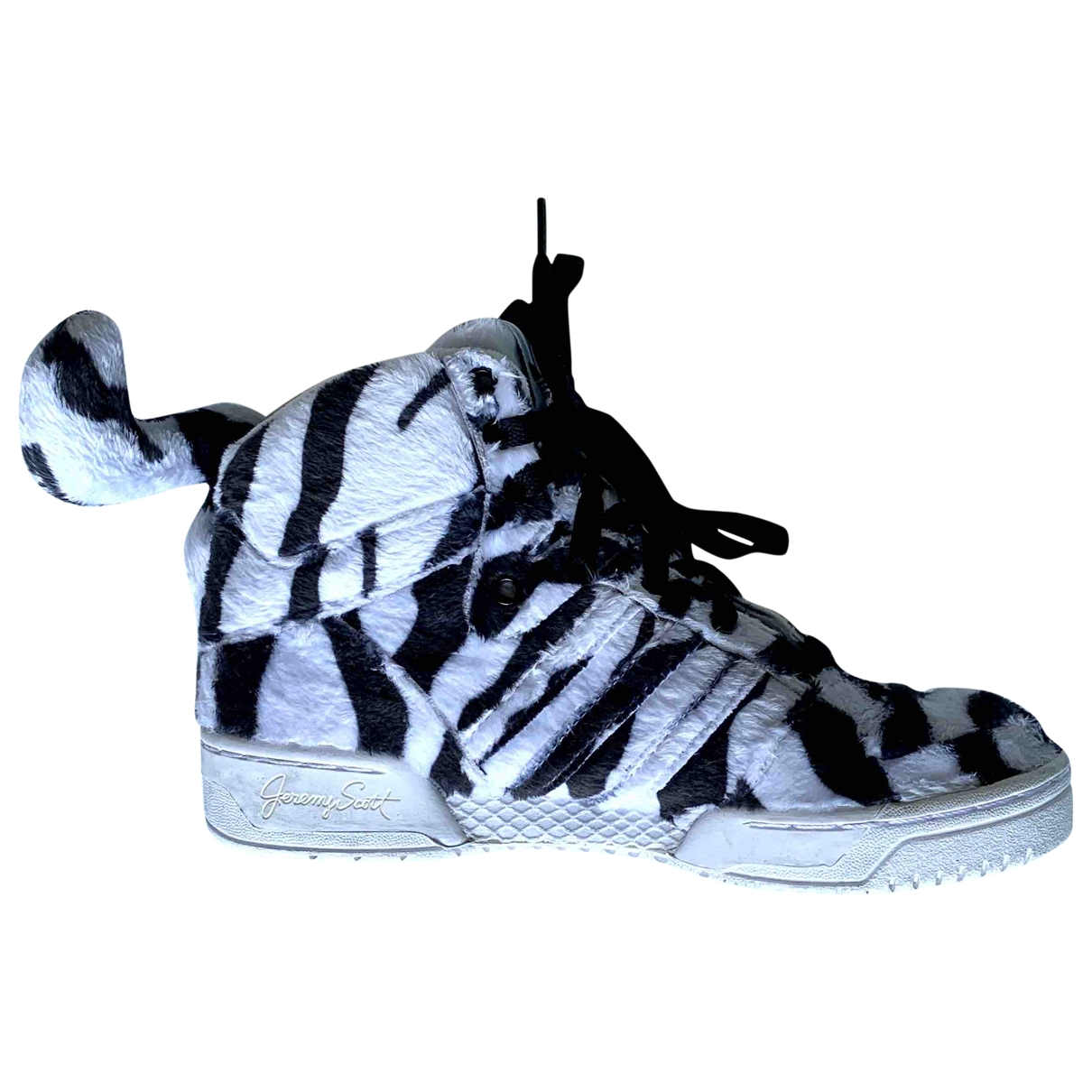 Jeremy Scott Pour Adidas \N Sneakers in  Weiss Synthetikpelz