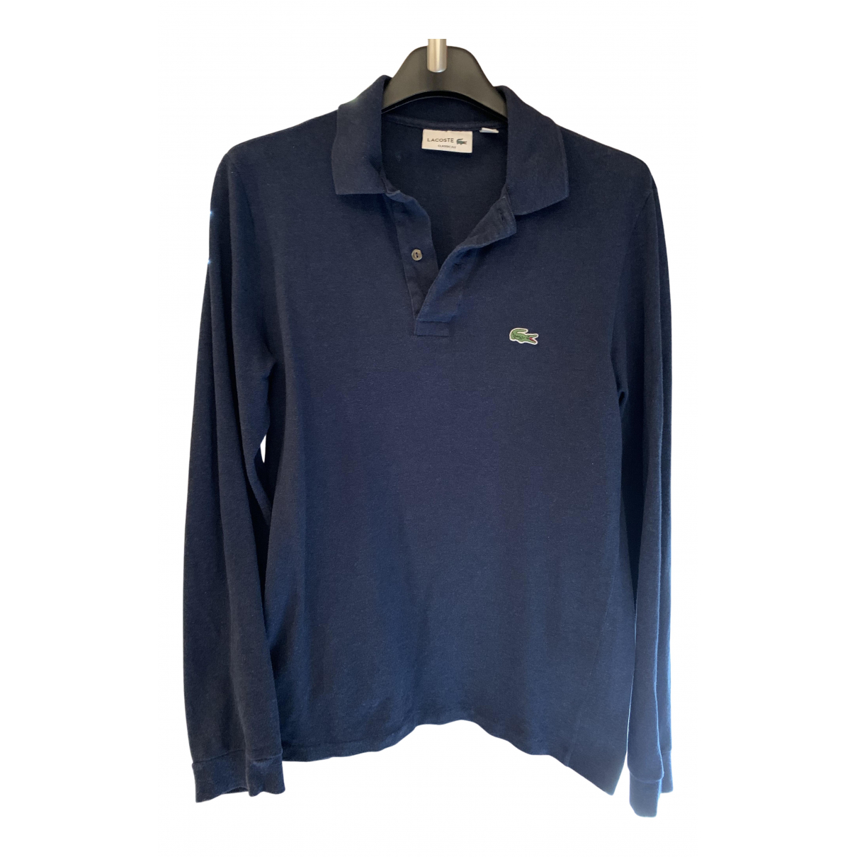 Lacoste N Blue Cotton Polo shirts for Men 3 0 - 6